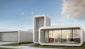 Dubai launched the world's first 3D-printed office
